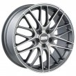 BBS CS5 - Matt Anthracite Polished Matt