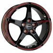 Borbet FS - Black Red Sports