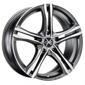 Колесные диски OZ Racing X5B 8x18 5x120 ET29 D79.1 Matt Graphite Diamond Cut [арт. 112703]